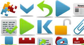 Pretty Office Icons Part 5 Icons