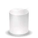 Glass, Milk Icon