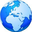 Globe, Internet, Network Icon