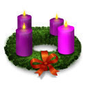 Advent, Christmas, Wreath Icon