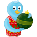 Bird, Christmas, Ornament, Twitter, Winter Icon