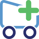Add, Shoppingcart Icon
