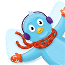 Bird, Twitter, Winter Icon