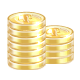 Cash, Coins, Gold, Money Icon