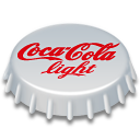 Coca, Cola, Light Icon