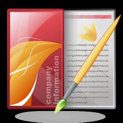 Brochure, Design, Graphic Icon