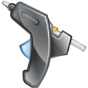 Glue, Gun Icon