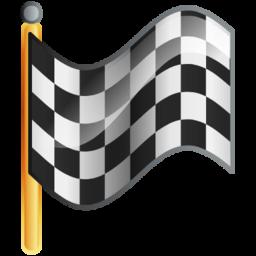 Checkered Flag Goal Icon Download Free Icons