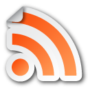 Feed, Rss, Sticker Icon