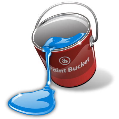 Bucket, Fill, Paint Icon