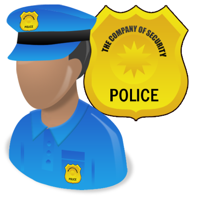 Office, Police Icon