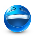 Funny, Happy, Laugh, Rofl, Smiley Icon