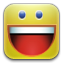 Funny, Happy, Smiley, Yahoo Icon
