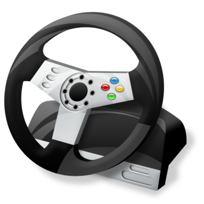 Controller, Gaming, Steering, Wheel Icon