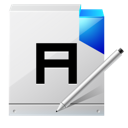 a, Document, Write Icon