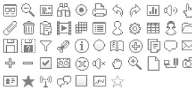 UiDesign Icons