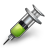 Green, Injection Icon