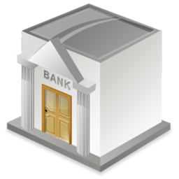 Banque Icone bank icon - download free icons