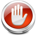 Hand, Stop, Symbol Icon