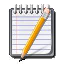 Editor, Text Icon
