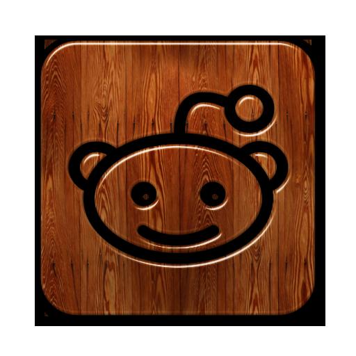 Logo, Reddit, Square Icon