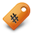 Orange, Tag Icon