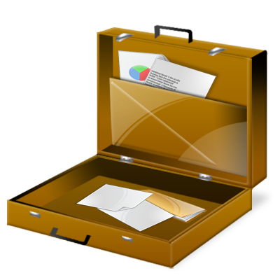 Briefcase, Travel Icon