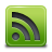 Feed, Green, Rss Icon