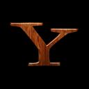 Logo, Wood, Yahoo Icon