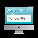 Mac, Monitor, Screen, Twitter Icon