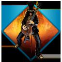Guitar, Hero, Music, Rock, Slash Icon
