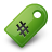 Green, Tag Icon