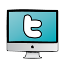 Computer, Twitter Icon