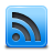 Blue, Feed, Rss Icon