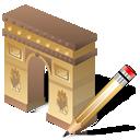 Arcodeltriunfo, Write Icon
