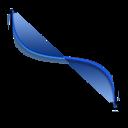 Bezier, Wave Icon