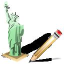 Estatuadelalibertad, Write Icon