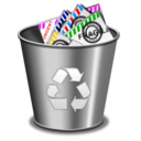 Mail, Trash Icon