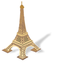 Eiffel, France, Paris, Tower Icon