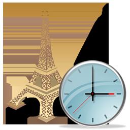 Clock, Torreeiffel Icon