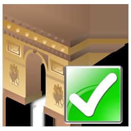 Arcodeltriunfo, Ok Icon