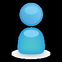 Blue, Man, User Icon