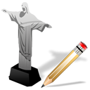 Cristoredentor, Write Icon