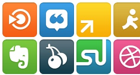 WPZOOM Social Networking Icon Set Icons