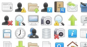Woo Function Icon Set Icons