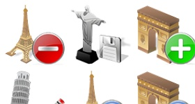 World Places Icons