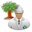 Engineer, Environmental, Green Icon