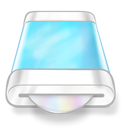 Blue, Disk, Drive Icon