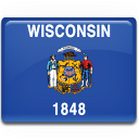 Flag, Wisconsin Icon
