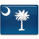 Carolina, Flag, South Icon